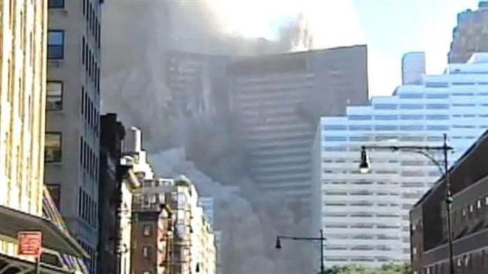 "The final report of a rigorous four-year computer modeling simulation that was followed by a robust peer review process has concluded that World Trade Center Building 7 could NOT have collapsed as a result of office fires, as the ""official"" explanation dubiously claims."